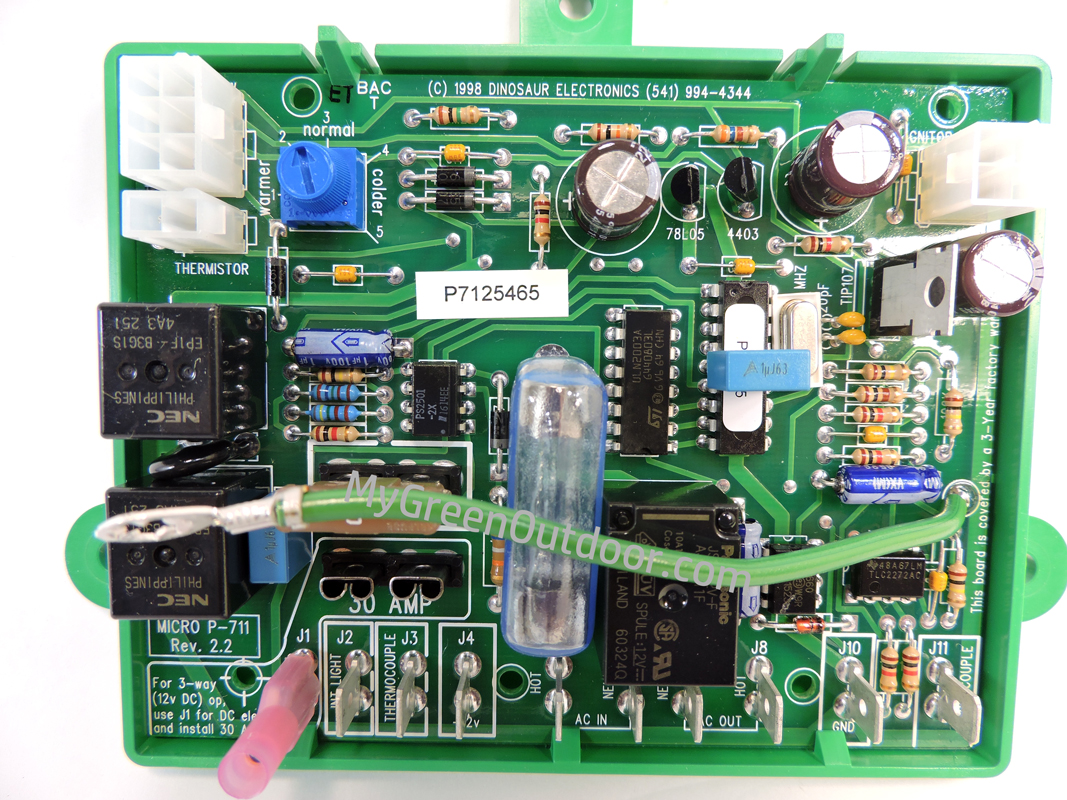 Circuit Board Dinosaur P 711 Wiring Diagram For Professional Atwood 93865 Rv Water Heater Pc Control Ebay Micro Dometic Ndr 1272 Replacement Rh Mygreenoutdoor Com Boards Appliance